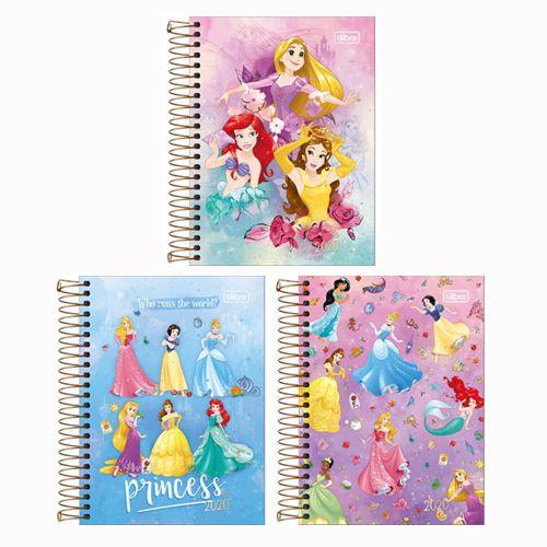 Agenda Espiral Princesas 2020