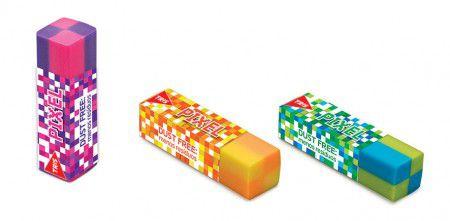 Borracha Tris Pixel  - Papel Pautado