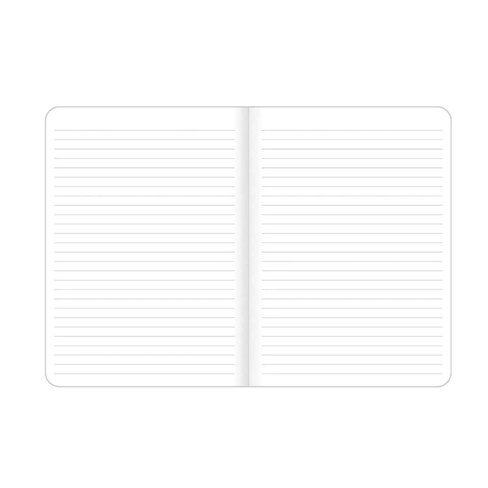 Caderneta Grampeada Happy Tilibra 32 Folhas  - Papel Pautado
