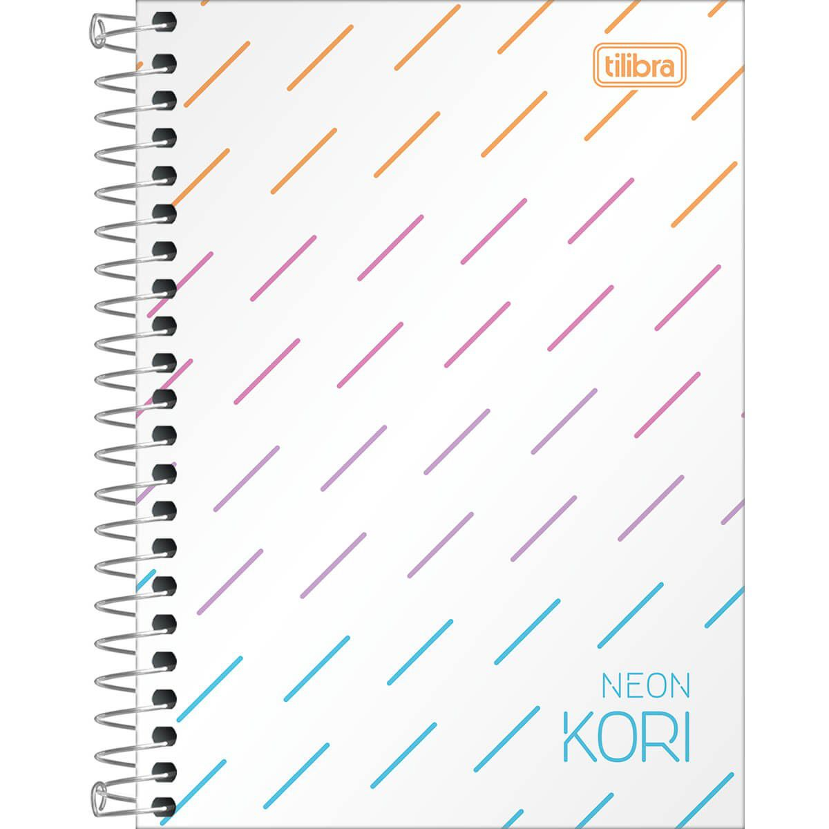 Caderneta Neon Kori Espiral 1/8