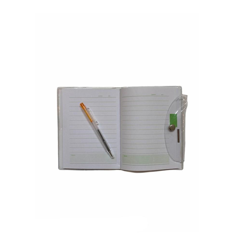 Cadernetinha c/ Mini Caneta  - Papel Pautado