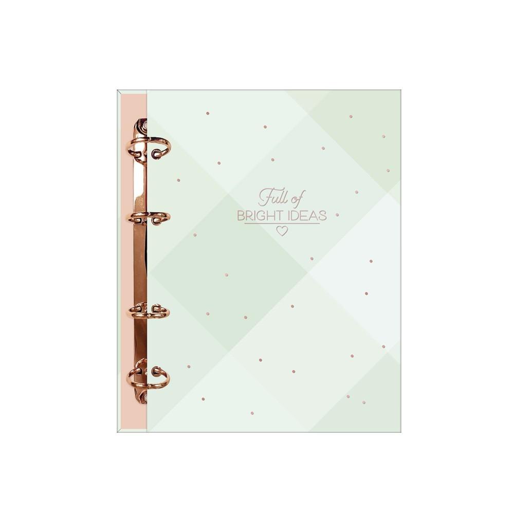 Caderno Argolado Cartonado Colegial Soho 160 Folhas  - Papel Pautado