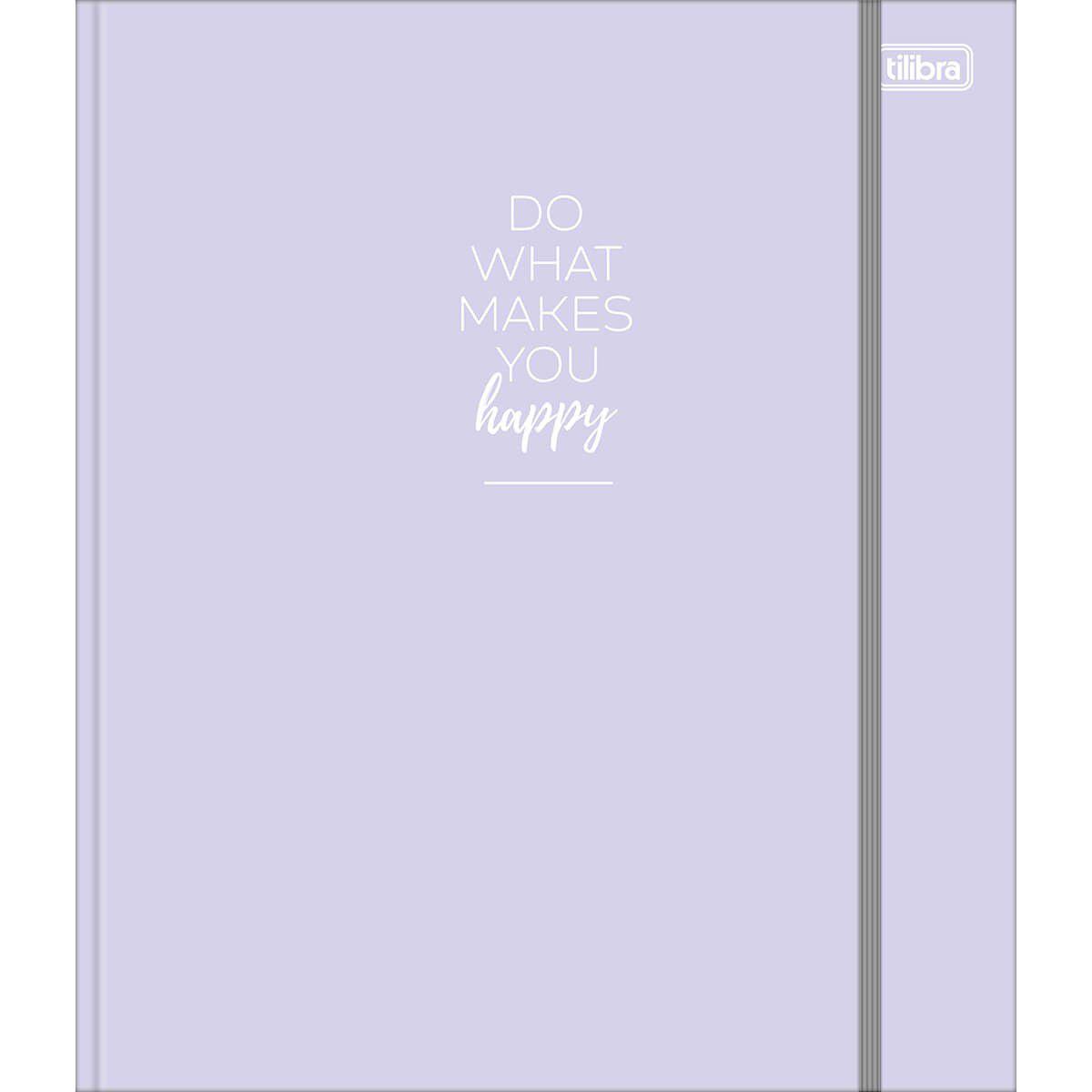 Caderno Argolado Happy Colegial