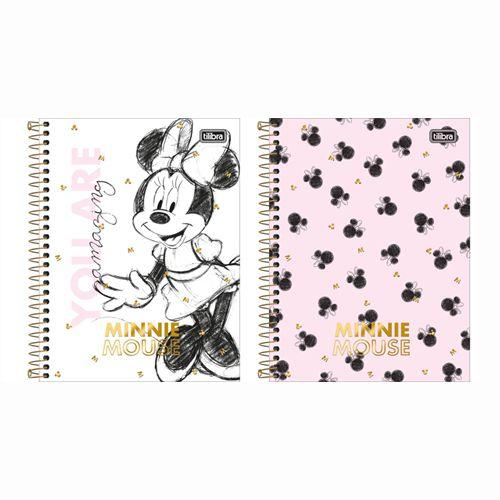 Caderno Colegial Minnie 10 Matérias