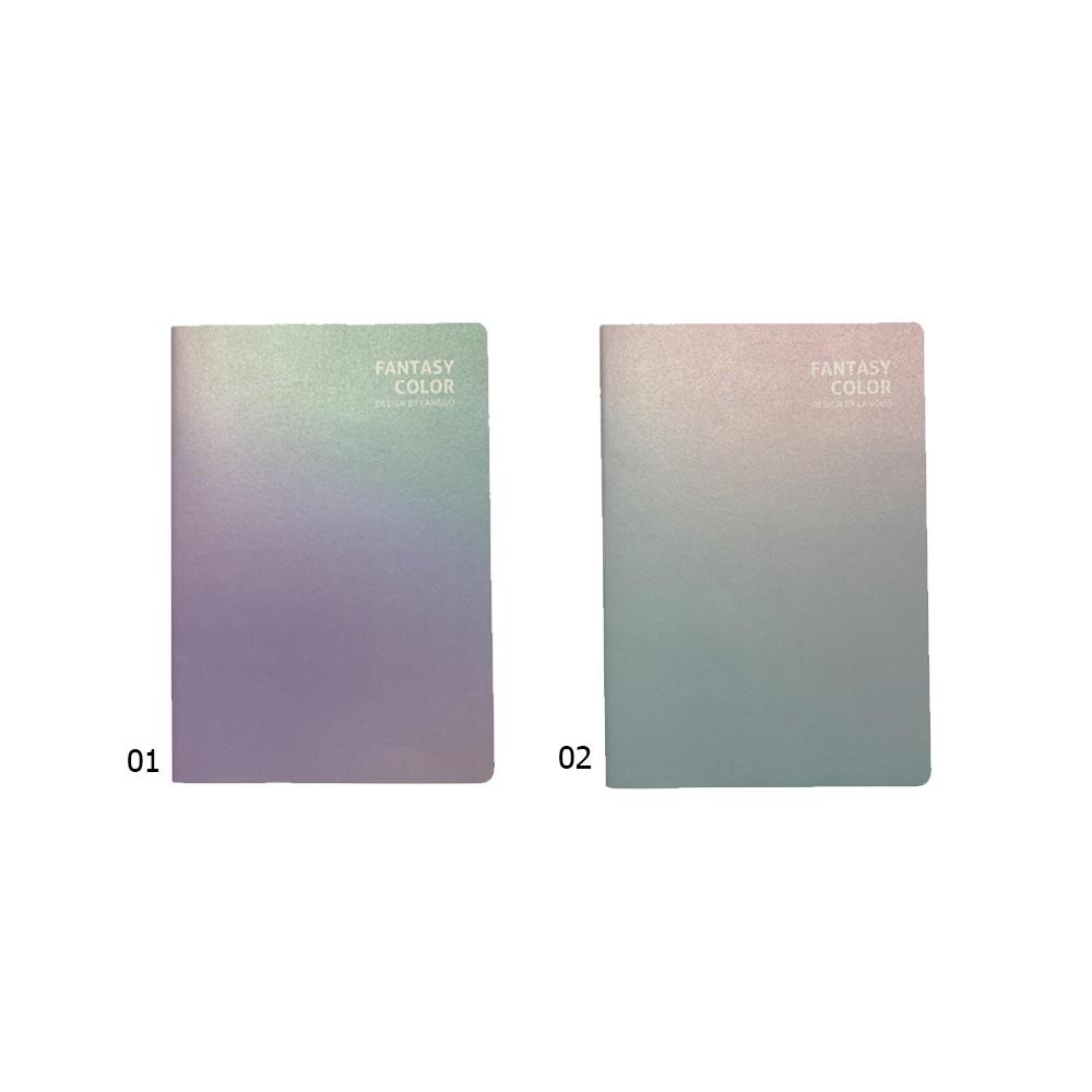 Caderno Costurado Tie Dye   - Papel Pautado