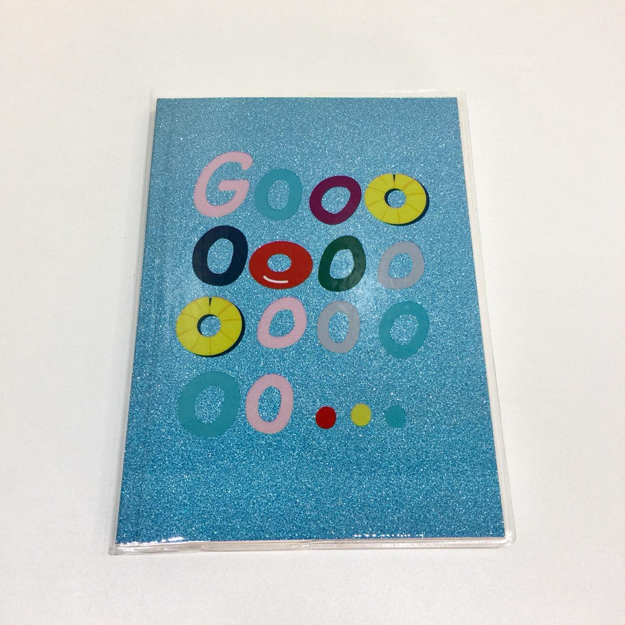 Caderno de Anotações Glitter Go