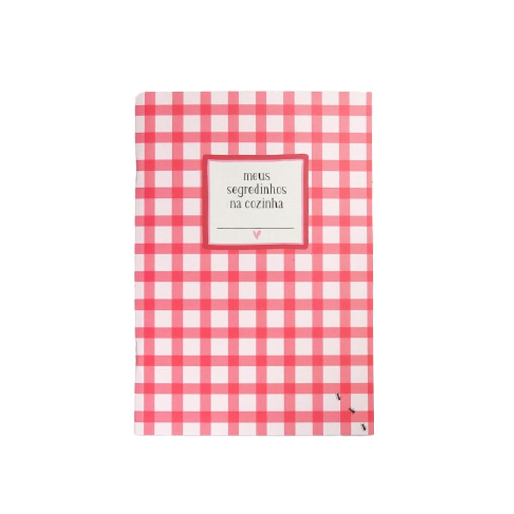 Caderno de Receitas Papelote  - Papel Pautado