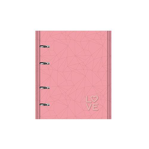 Caderno FC 167 Pink Stone  - Papel Pautado