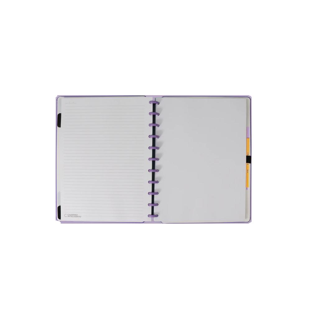 Caderno Inteligente All Purple  - Papel Pautado