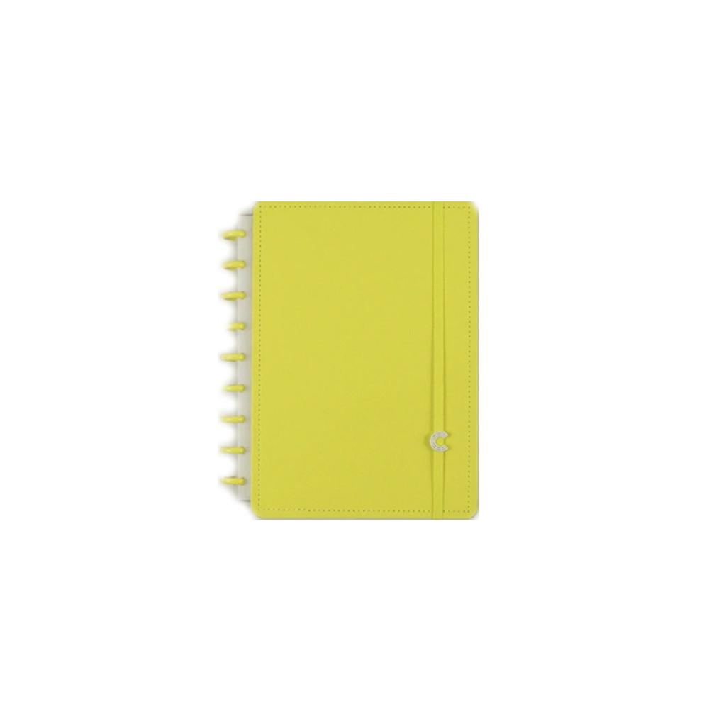 Caderno Inteligente All Yellow  - Papel Pautado