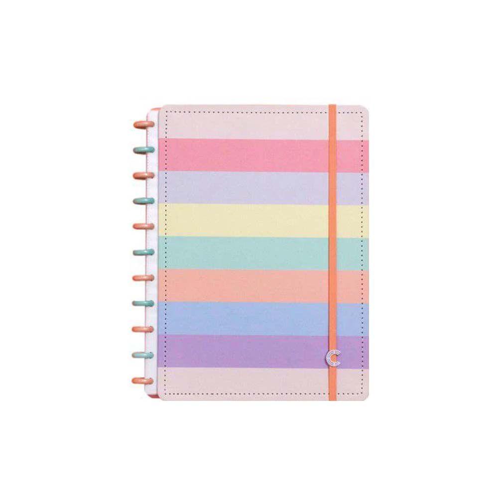 Caderno Inteligente Arco-Íris G+  - Papel Pautado