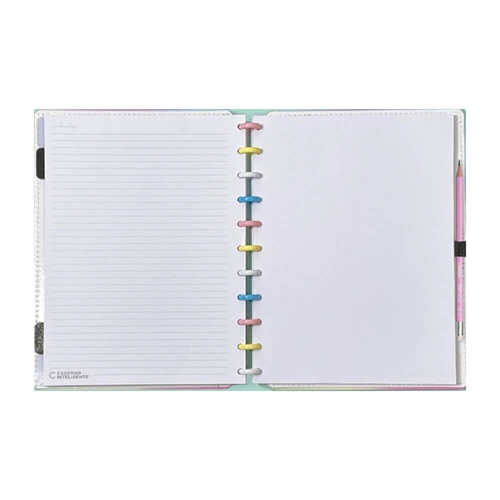 Caderno Inteligente Candy Splash  - Papel Pautado