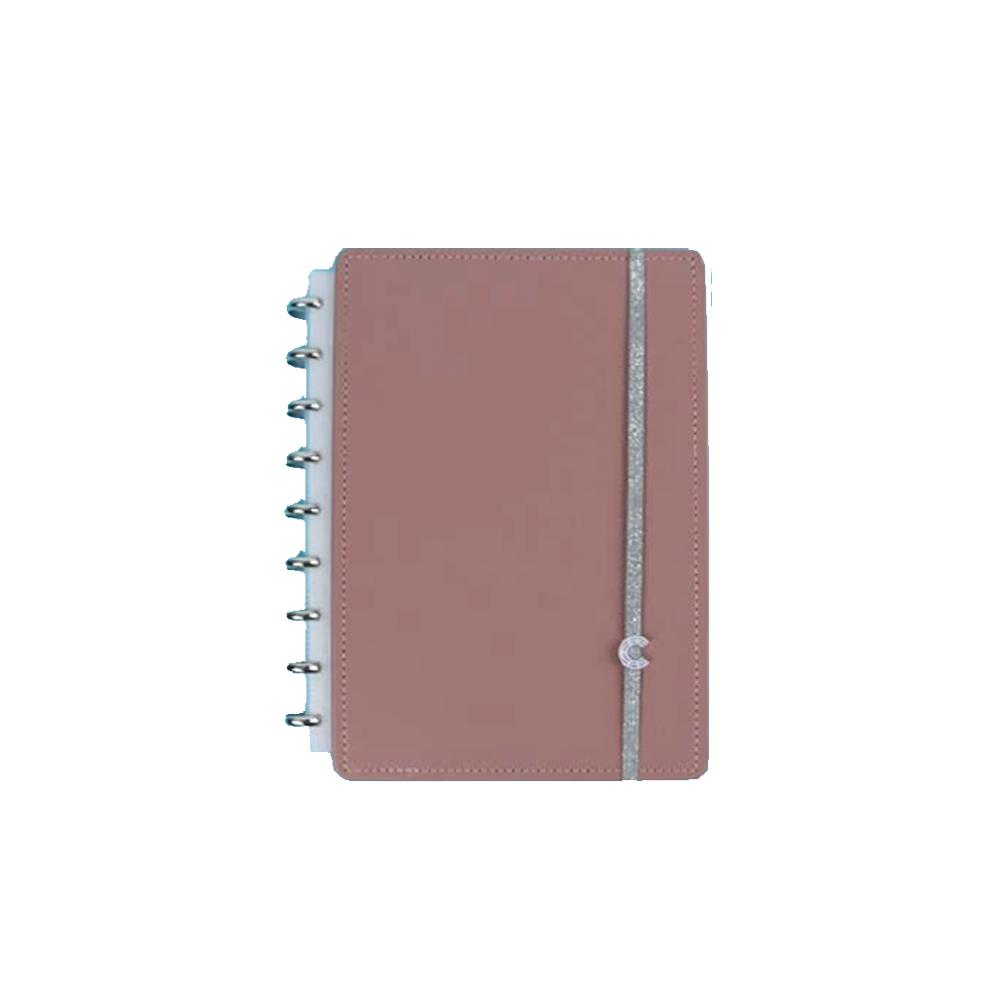 Caderno Inteligente Chic Nude  - Papel Pautado