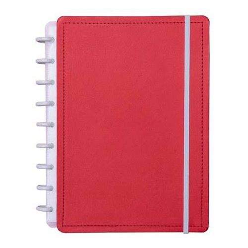 Caderno Inteligente Color Vermelho Cereja