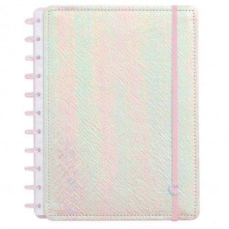 Caderno Inteligente Holográfico Rosa