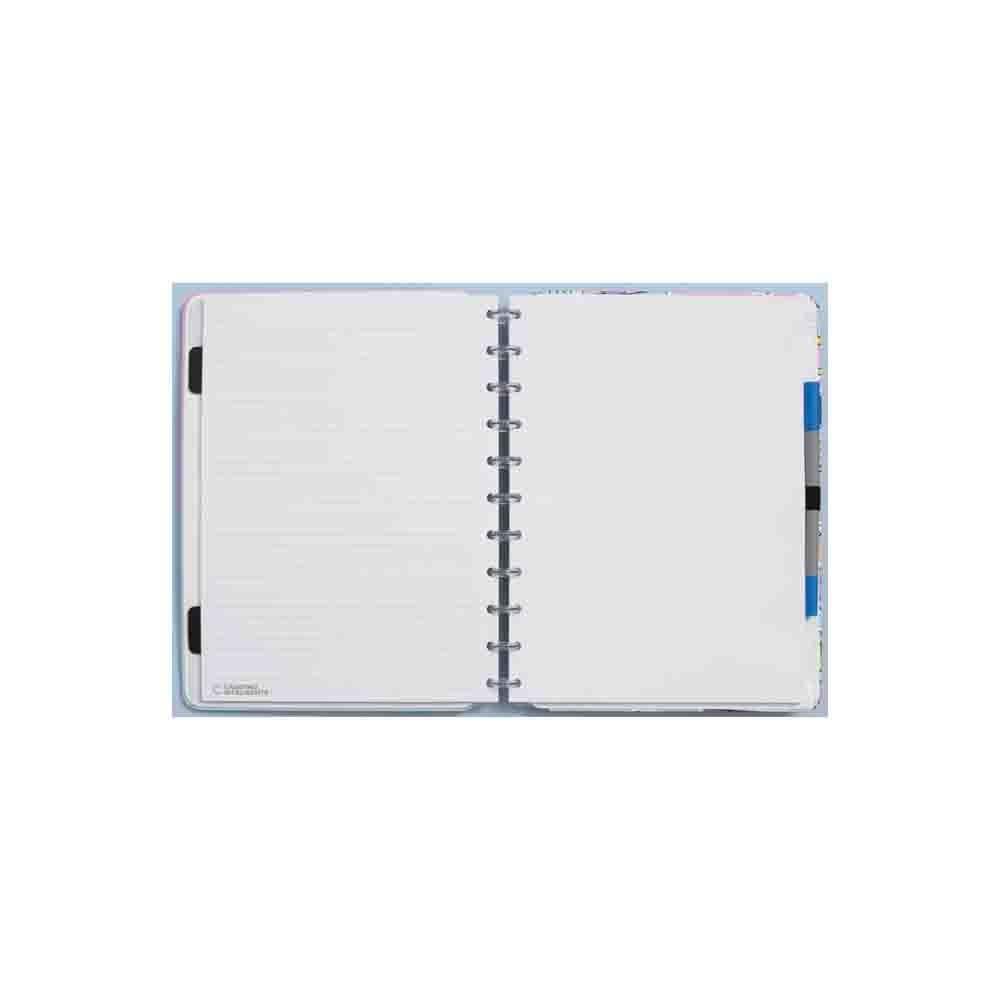 Caderno Inteligente Lilac  - Papel Pautado