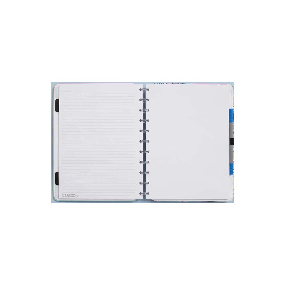 Caderno Inteligente Lilás Pastel  - Papel Pautado
