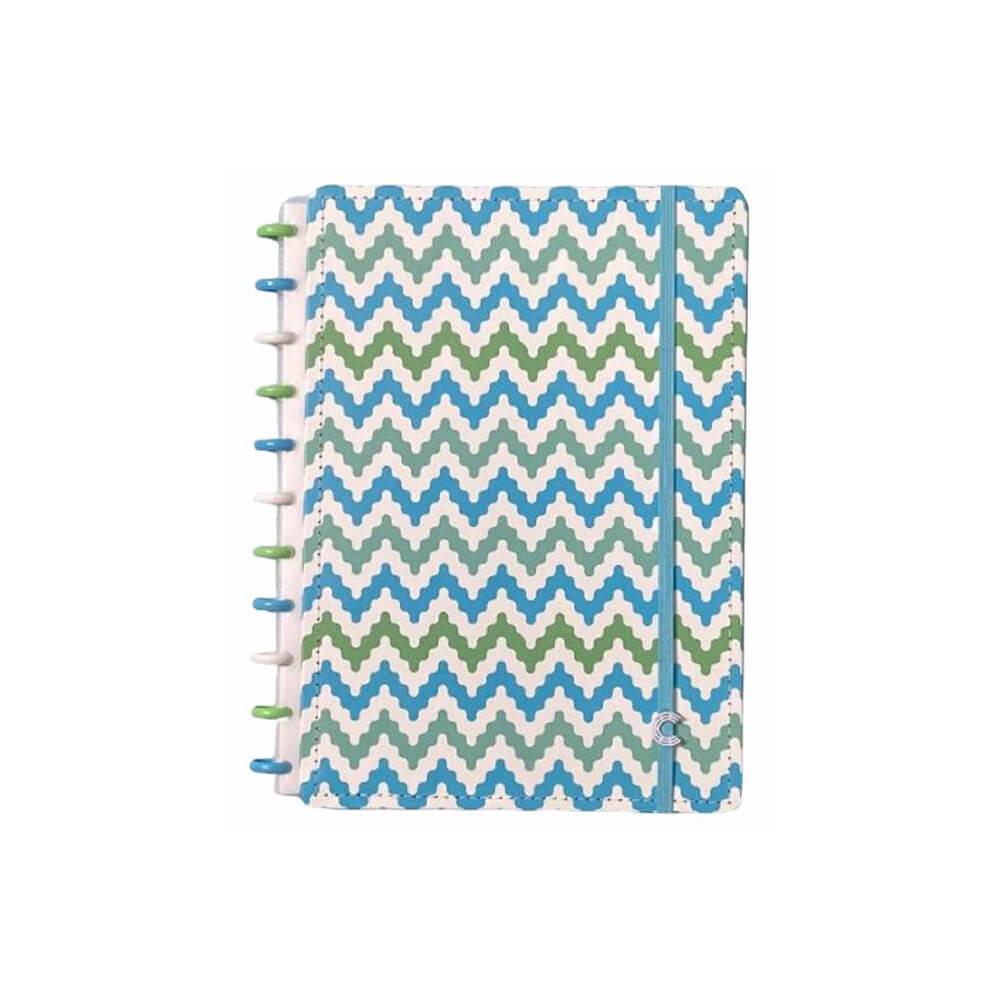 Caderno Inteligente Waves  - Papel Pautado