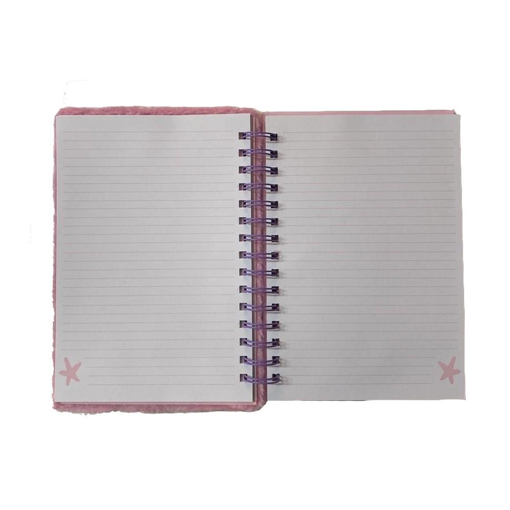 Caderno Pelúcia 80 Folhas  - Papel Pautado