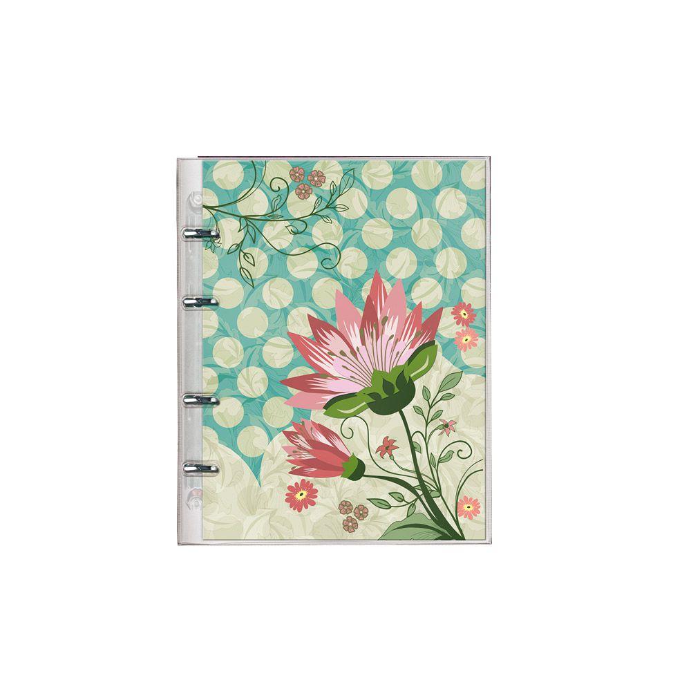 Caderno PVC 177 Botanical