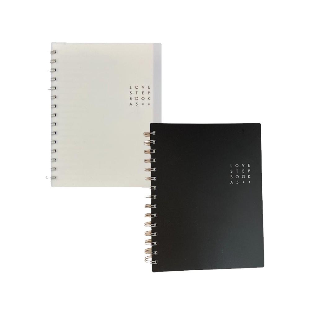 Caderno Step Book A5  - Papel Pautado