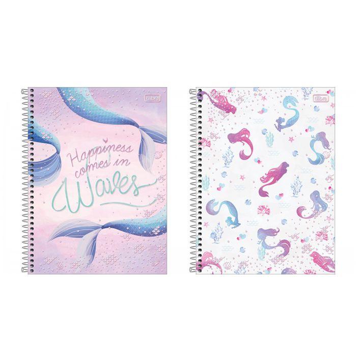 Caderno Universitário 10 Matérias Wonder