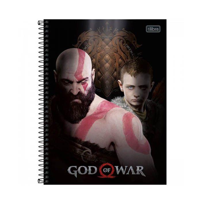 Caderno Universitário 16 Matérias GOW  - Papel Pautado