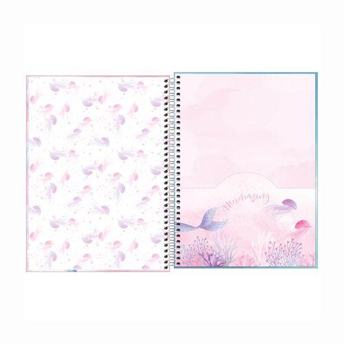 Caderno Universitário 16 Matérias Wonder  - Papel Pautado