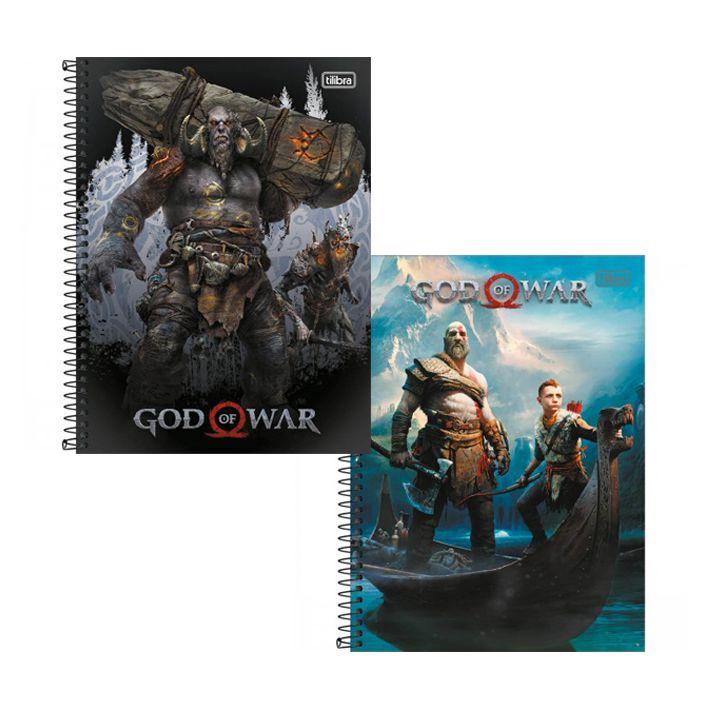 Caderno Universitário 1 Matéria GOW