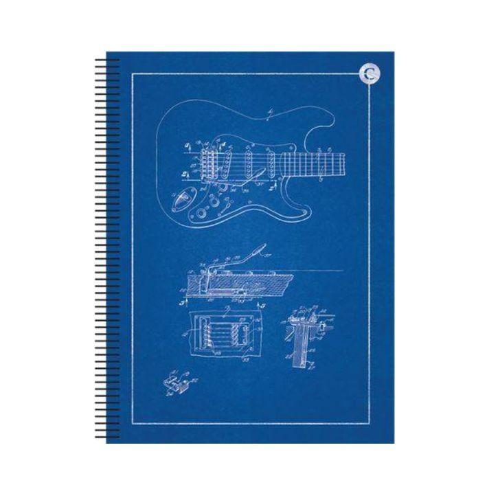 Caderno Universitário 1 Matéria Guitarra