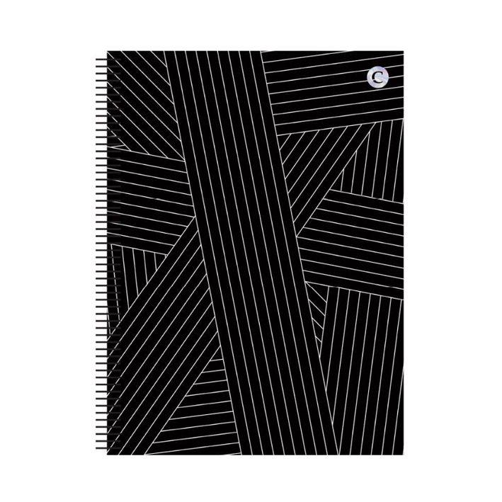 Caderno Universitário 1 Matéria P&B