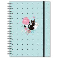 Caderno Universitário Gatos 1 matéria