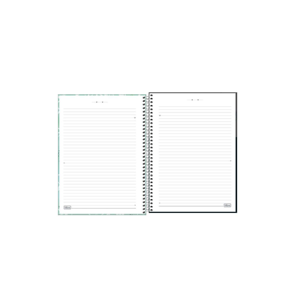 Caderno Universitário Lovely Tilibra 1 Matéria  - Papel Pautado