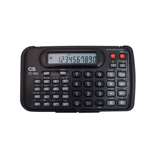 Calculadora Científica Cis c/ 10 Dígitos  - Papel Pautado