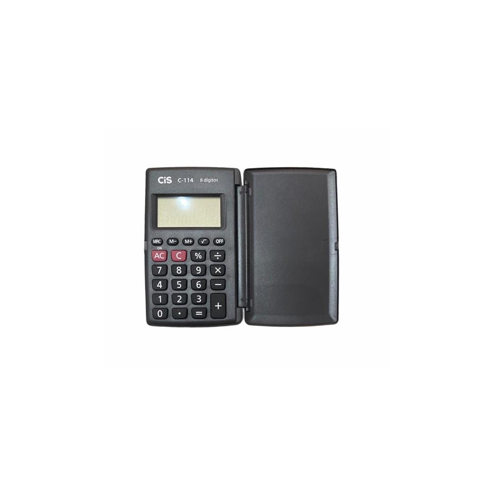 Calculadora de Bolso Cis C-114  - Papel Pautado