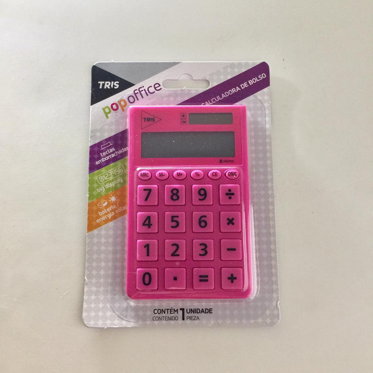 Calculadora de Bolso Pop Office