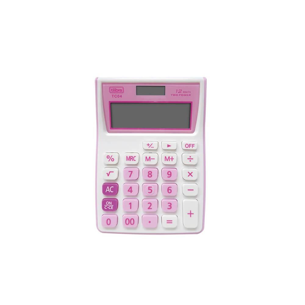 Calculadora Eletrônica Tilibra TC04  - Papel Pautado