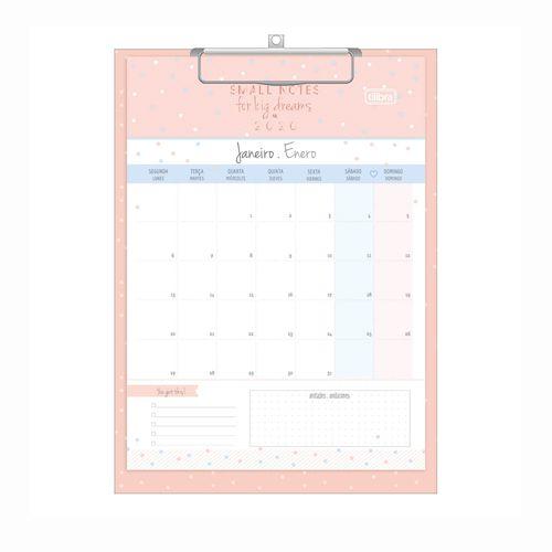 Calendário Planner Prancheta  Soho 2020