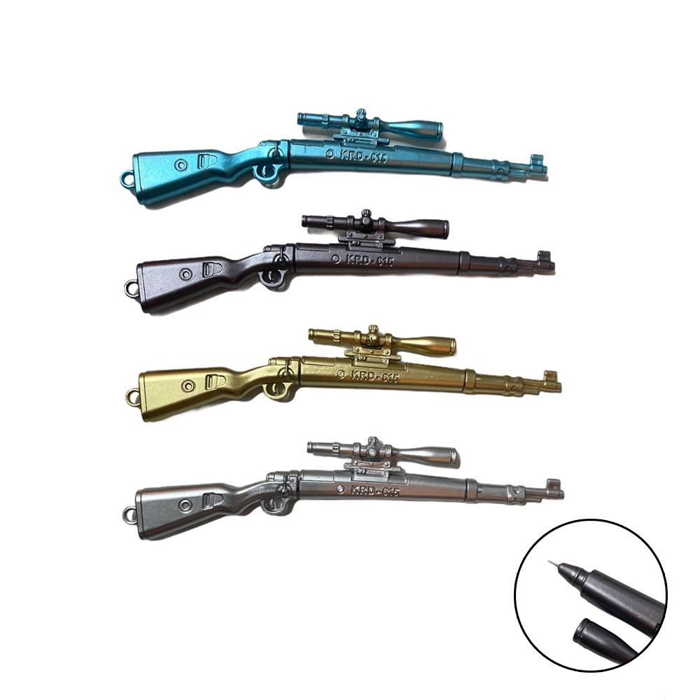 Caneta Arma  - Papel Pautado