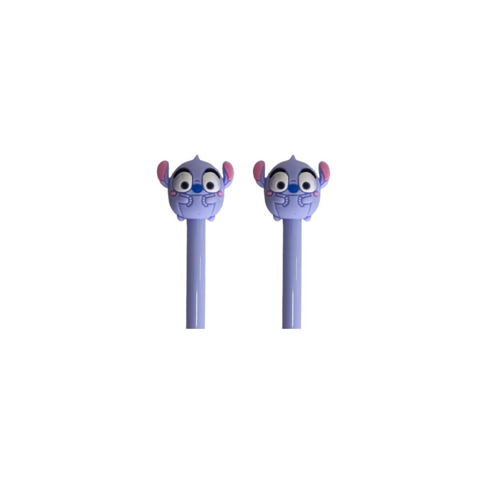 Caneta Lilo e Stitch   - Papel Pautado