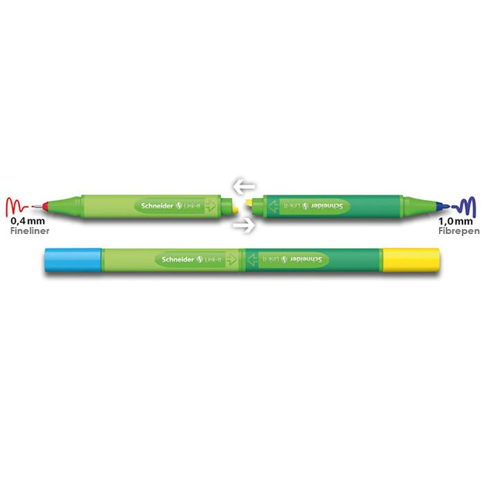 Caneta Link It 1,0 mm  - Papel Pautado