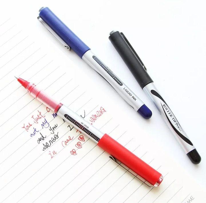 Caneta Roller-Tip Pen  - Papel Pautado