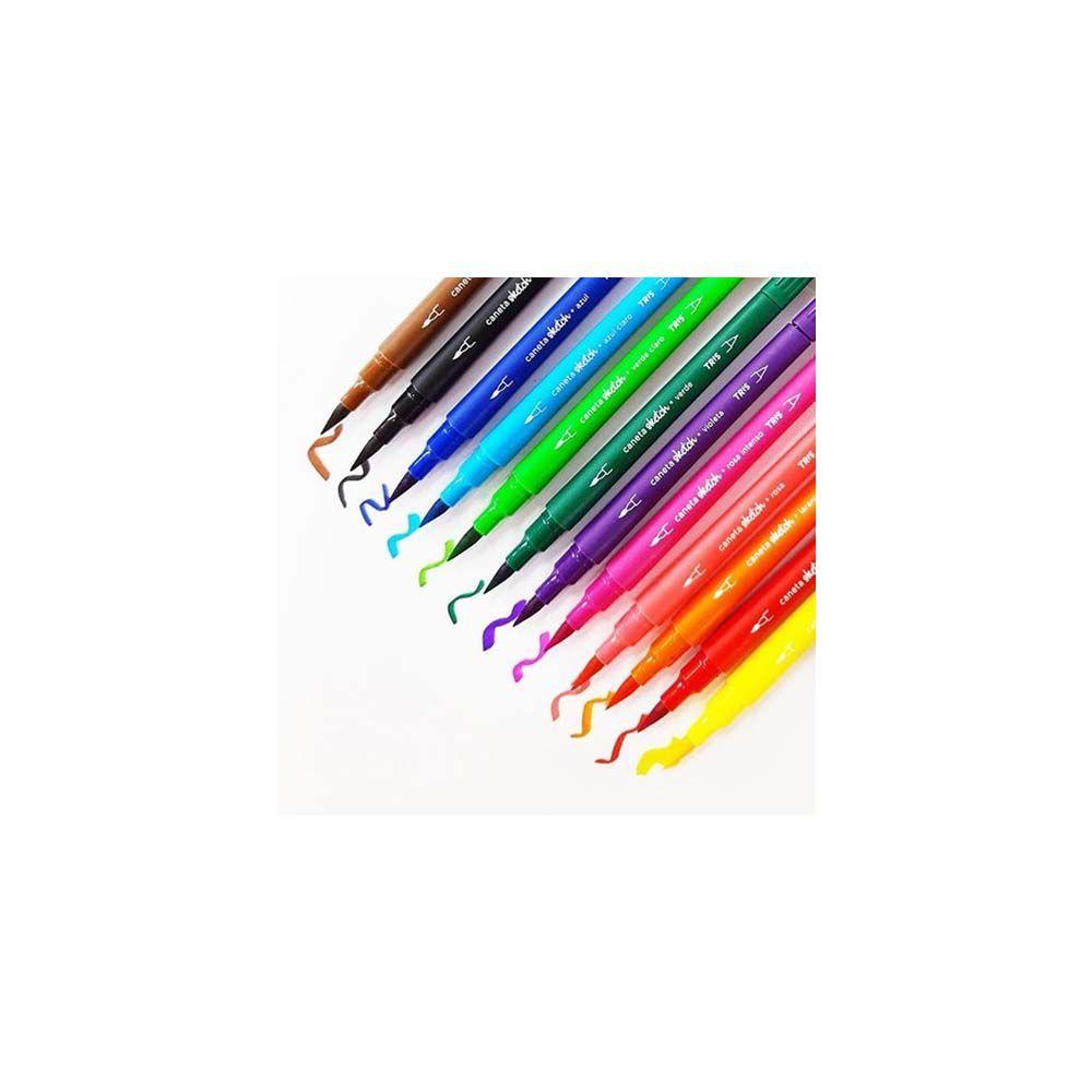 Caneta Sketch Brush Pen UND