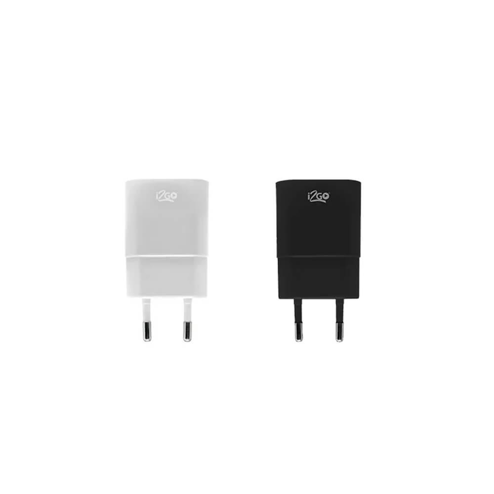 Carregador de Parede USB I2GO  - Papel Pautado
