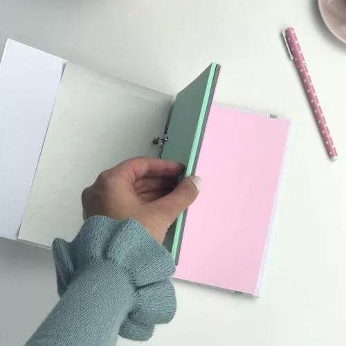 Case Minhas Ideias Colors Evertop  - Papel Pautado
