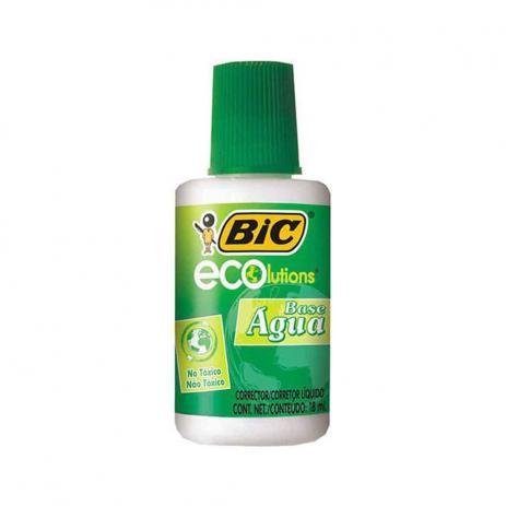 Corretivo Líquido Bic Ecolutions 18 ml