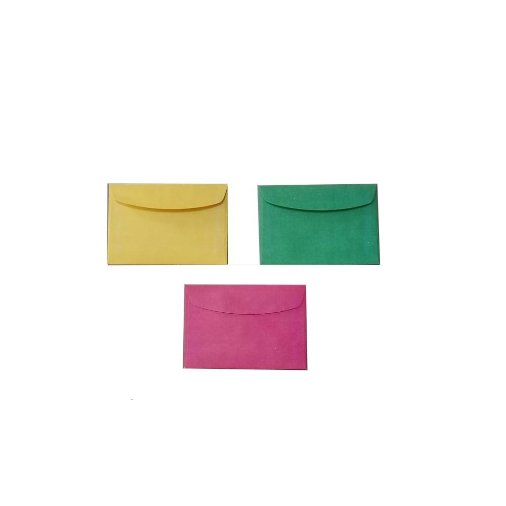 Envelope p/ Convite 78mm x 115mm Bag  - Papel Pautado