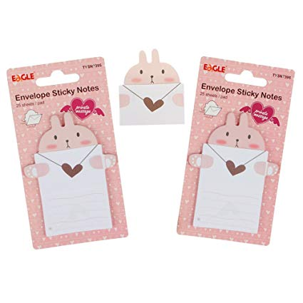 Envelope Sticky Notes - Papel Pautado