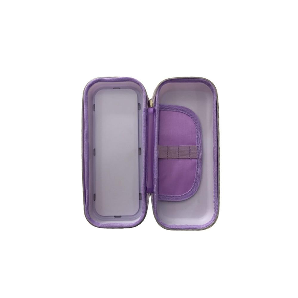 Estojo Box Glitter Unicórnio  - Papel Pautado