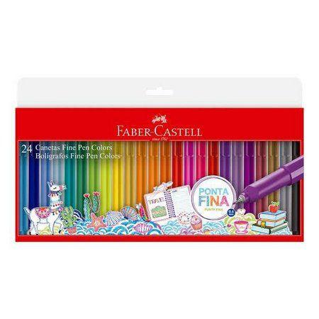Estojo Fine Pen Colors - 24 cores